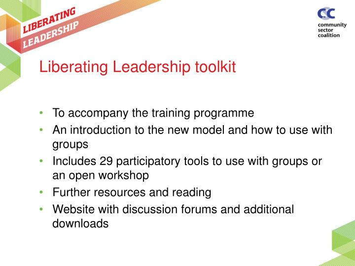 Liberating Leadership toolkit