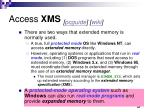 access xms pcguide wiki