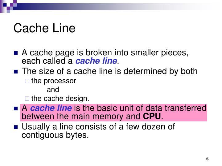 Cache Line