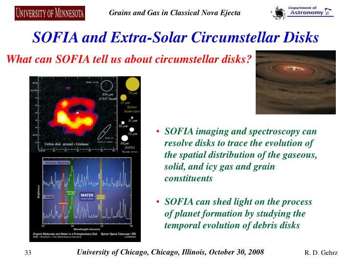 SOFIA and Extra-Solar Circumstellar Disks