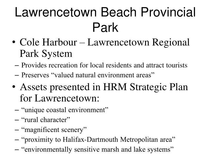 Lawrencetown Beach Provincial Park
