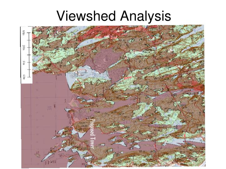 Viewshed analysis