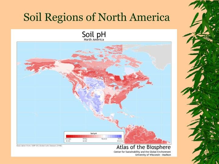 Soil Regions of North America