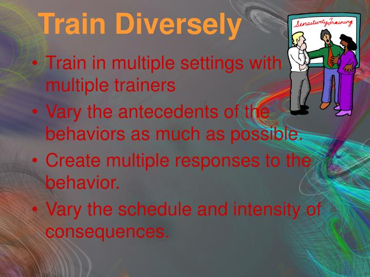 Train Diversely
