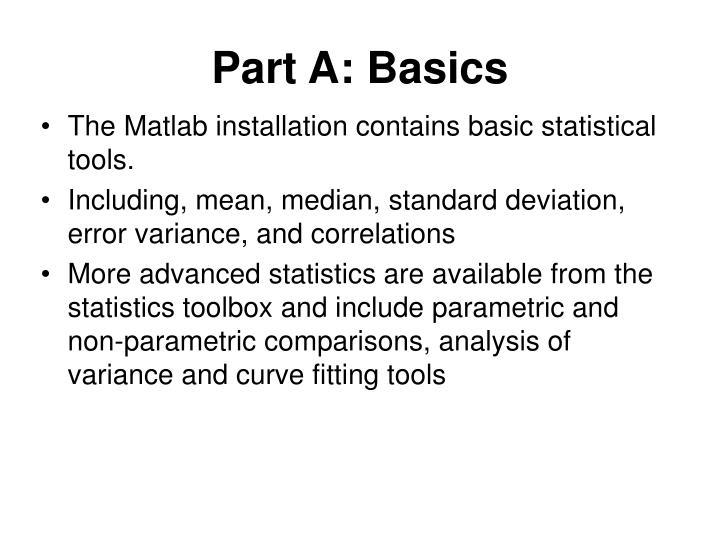 Part A: Basics