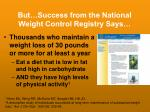 but success from the national weight control registry says