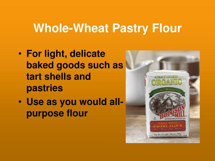 Whole-Wheat Pastry Flour