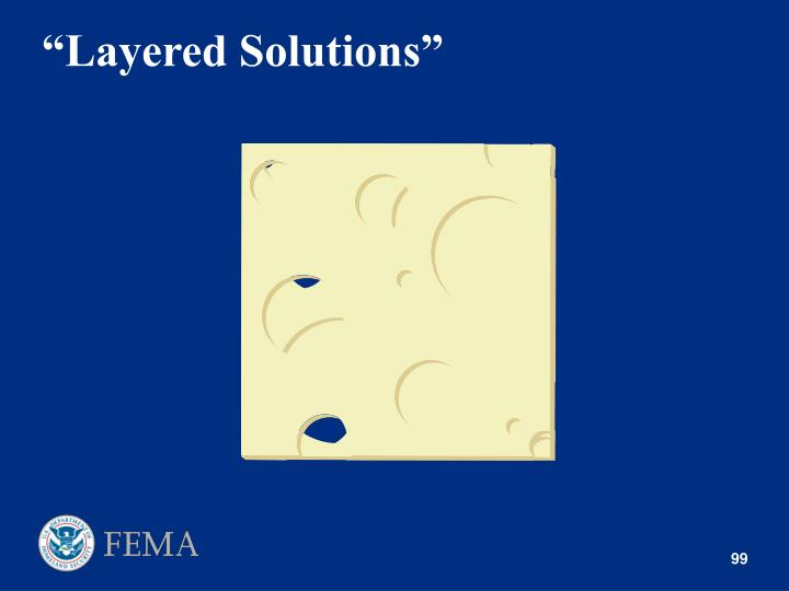 """Layered Solutions"""