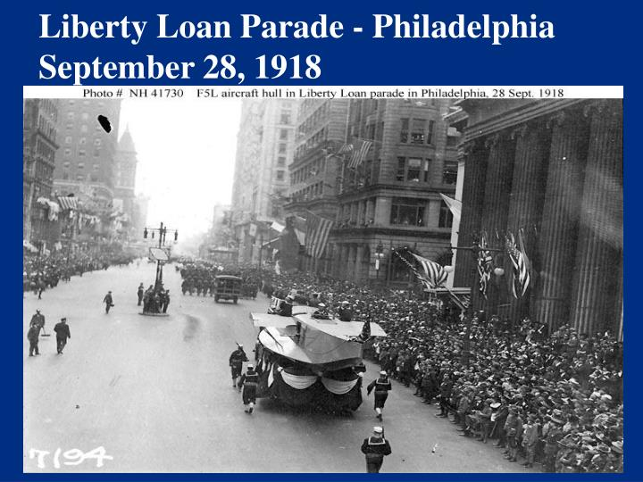 Liberty Loan Parade - Philadelphia
