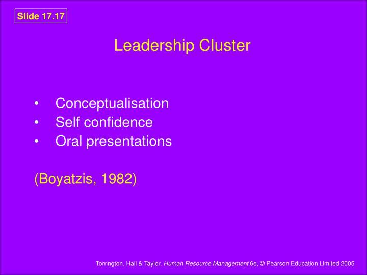 Leadership Cluster