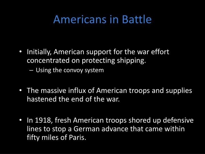 Americans in Battle