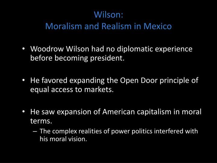 Wilson: