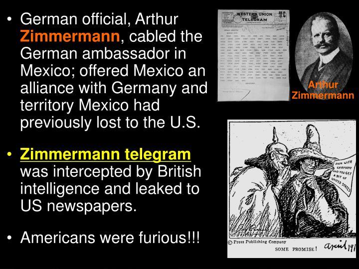 German official, Arthur