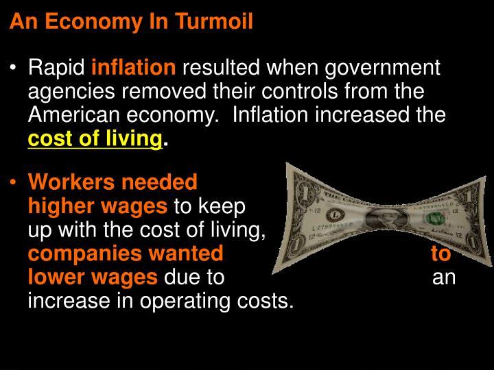 An Economy In Turmoil