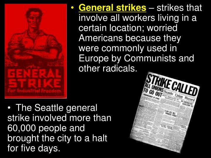 General strikes