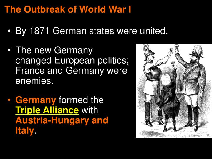 The Outbreak of World War I