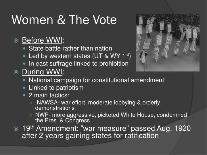 Women & The Vote