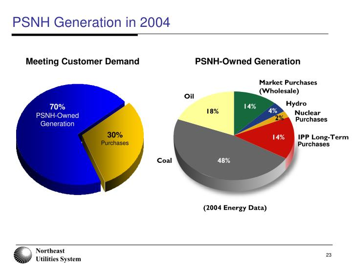 PSNH Generation in 2004