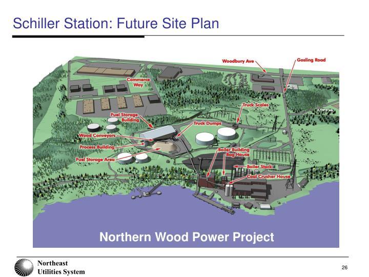Schiller Station: Future Site Plan
