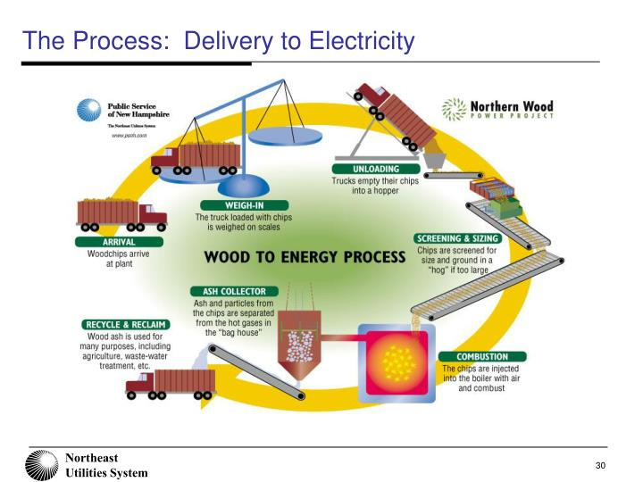 The Process:  Delivery to Electricity