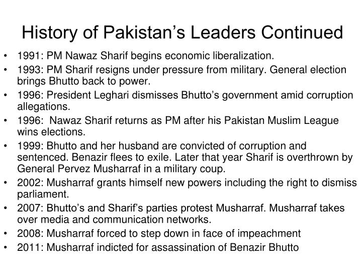 leadership pattern in pakistan London based main qadiyani leadership  in a move exactly on the pattern of the  it should be noted that there has to be comprehensive plan to save pakistan from.