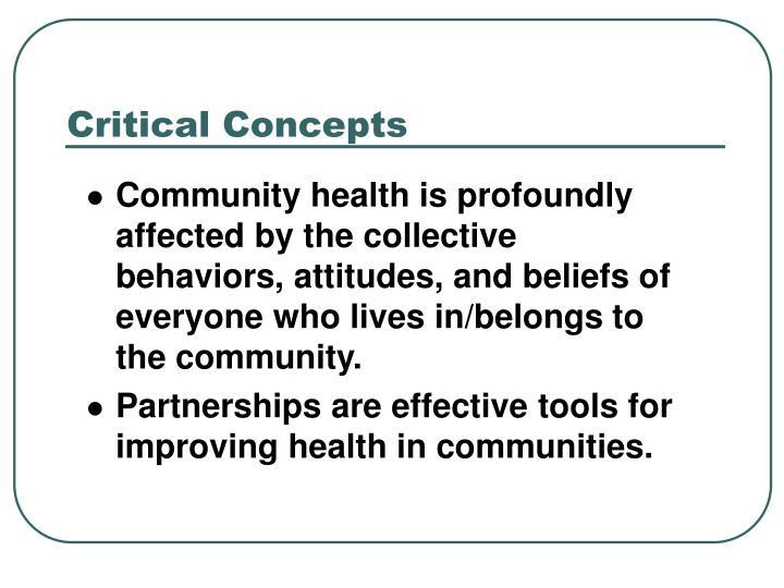 Critical Concepts