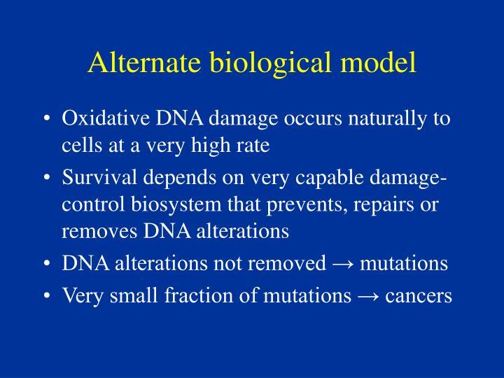 Alternate biological model