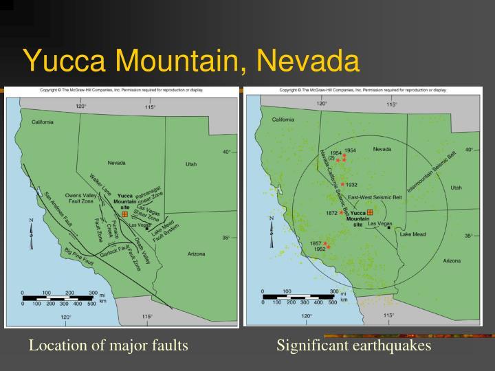 Yucca Mountain, Nevada