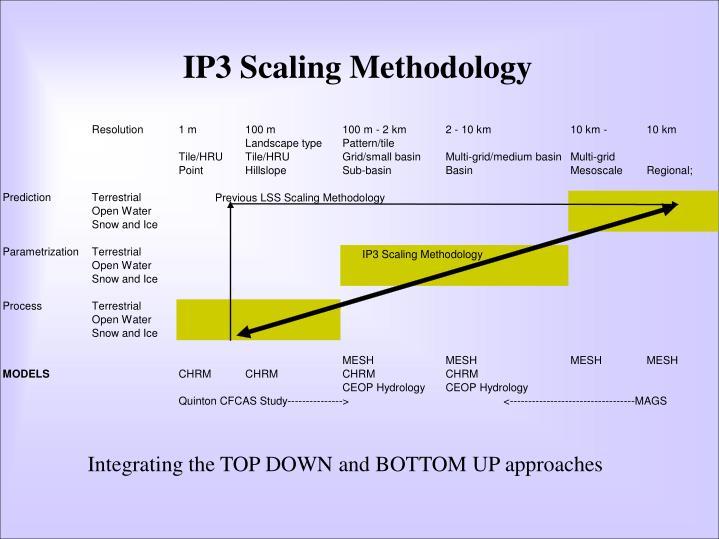 IP3 Scaling Methodology