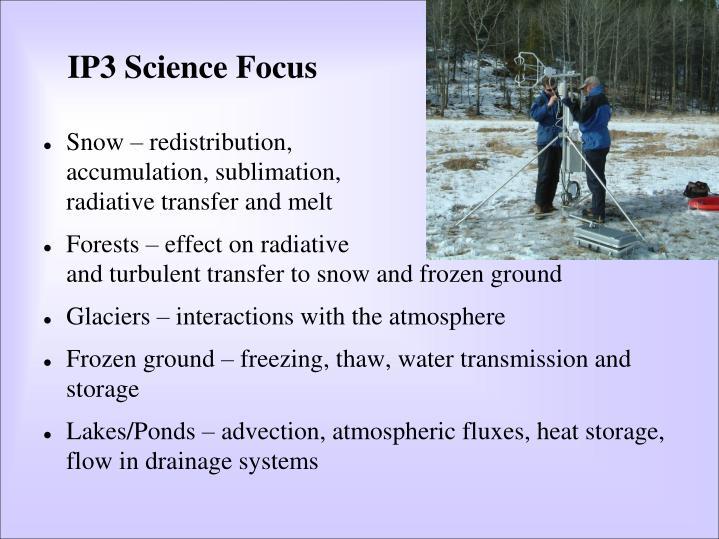 IP3 Science Focus
