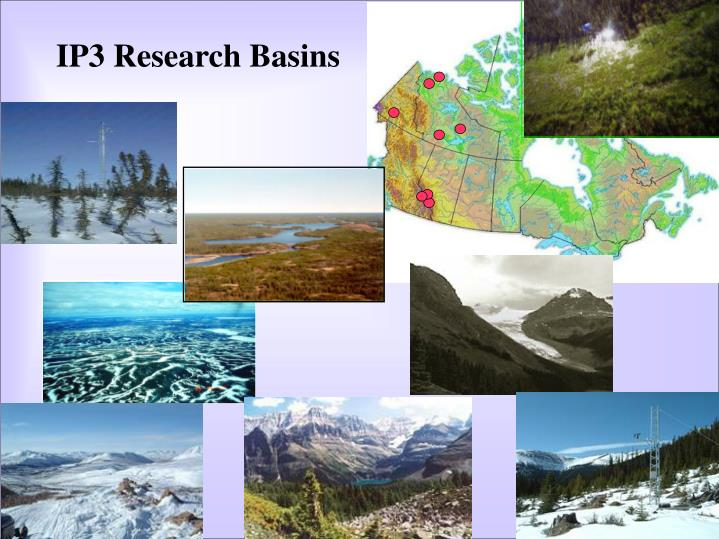 IP3 Research Basins
