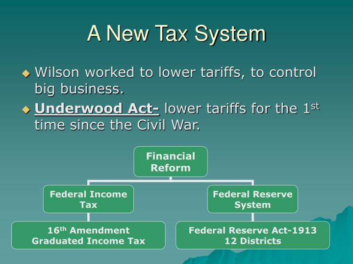 A New Tax System
