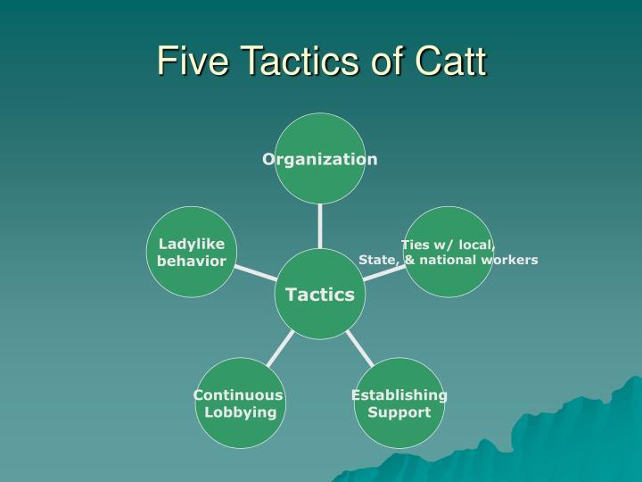 Five Tactics of Catt