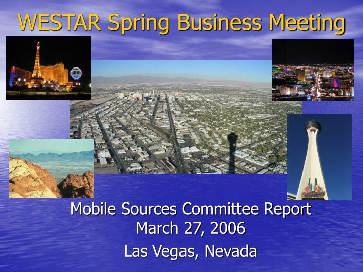 Westar spring business meeting