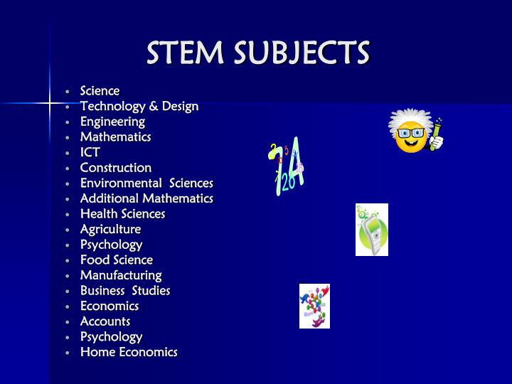 Stem subjects