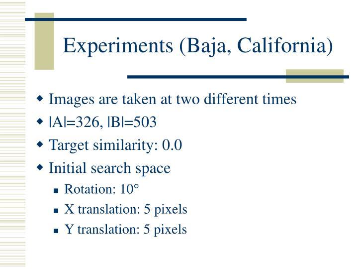 Experiments (Baja, California)