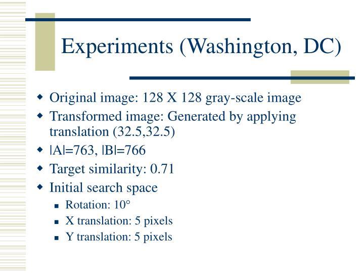 Experiments (Washington, DC)
