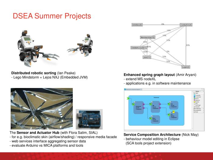 Dsea summer projects