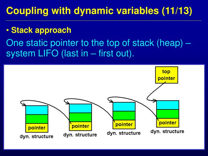 Stack approach
