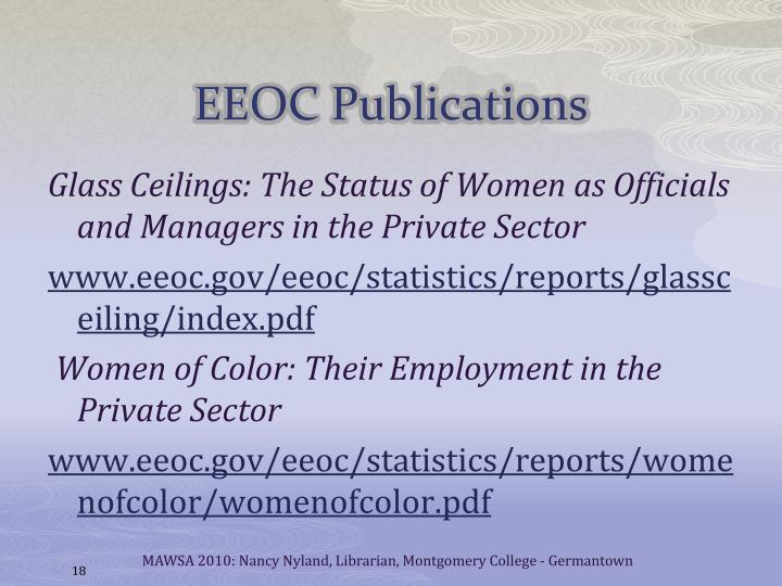 EEOC Publications