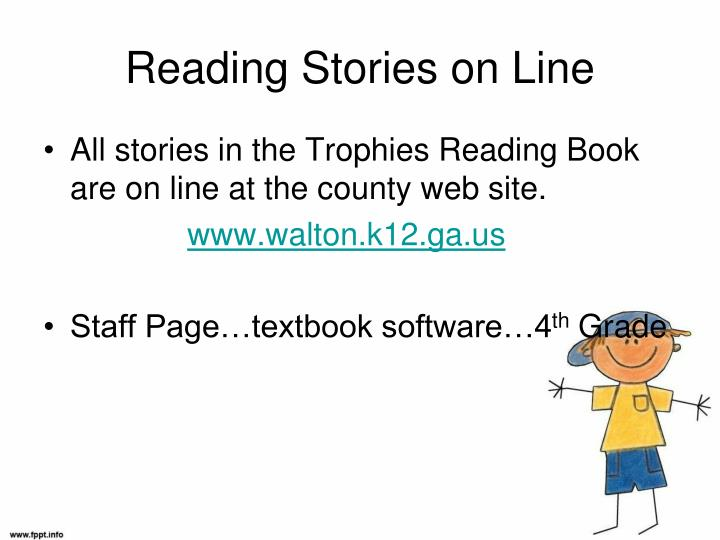 Reading Stories on Line