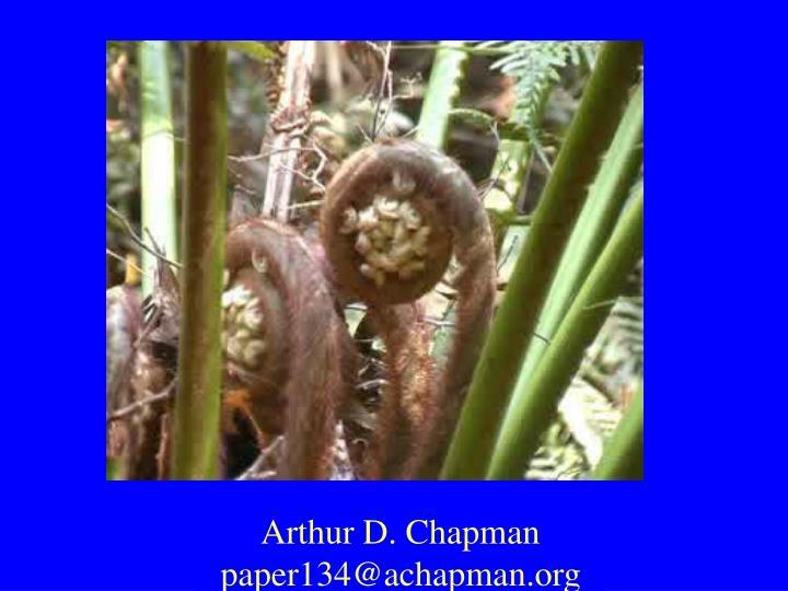 Arthur D. Chapman