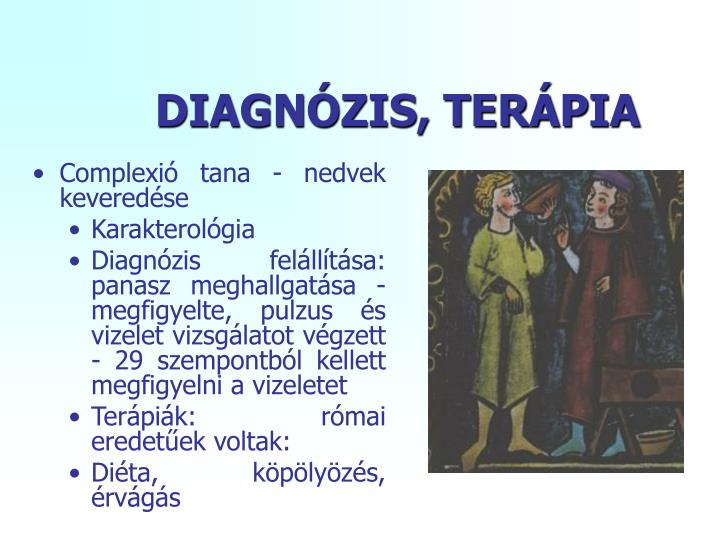 DIAGNÓZIS, TERÁPIA