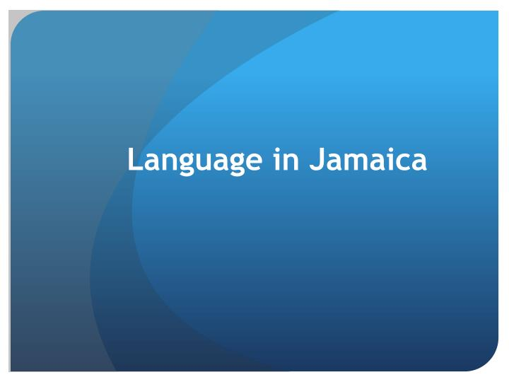 the caribbean language situation Caribbean language english is not the official language in all caribbean nations, but because of the importance of tourism and british colonial influence it is widely spoken throughout the caribbean.
