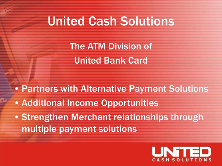 United cash solutions