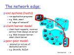 the network edge