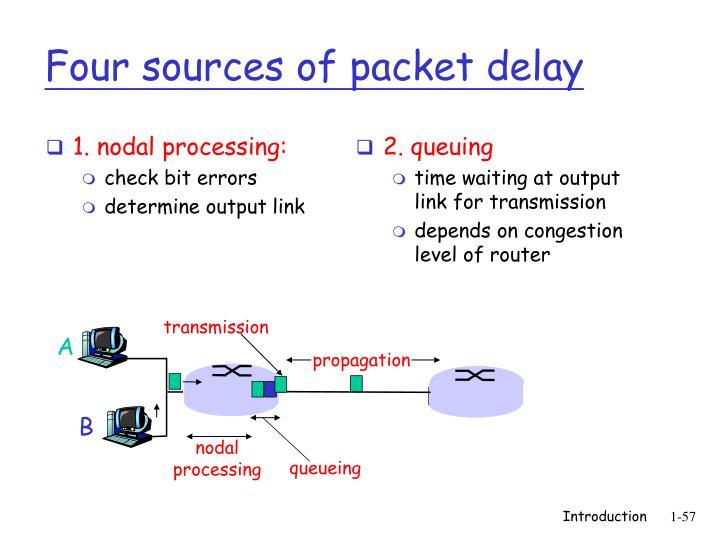 1. nodal processing: