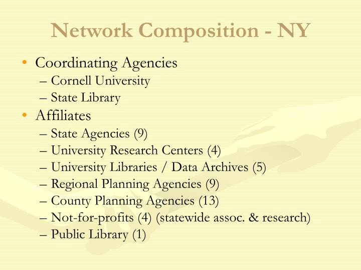 Network Composition - NY