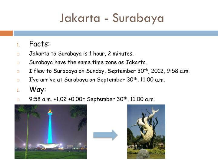 Jakarta - Surabaya
