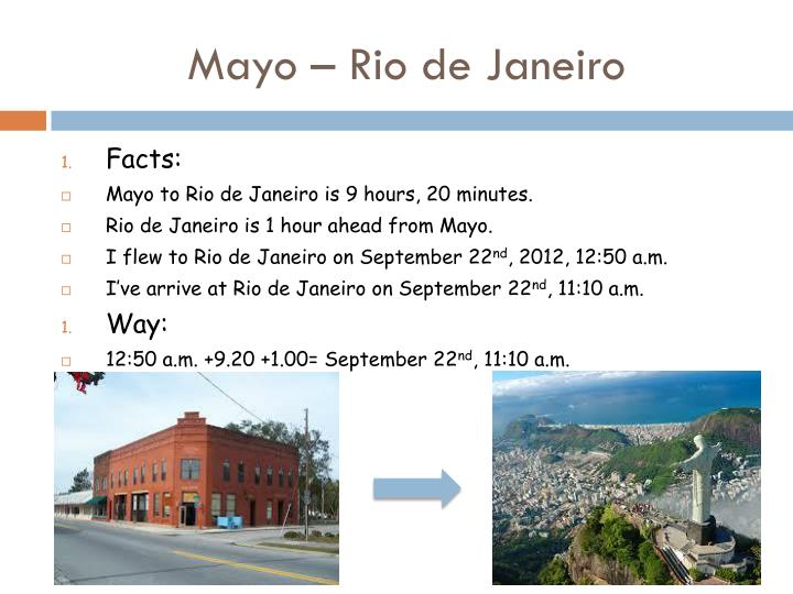 Mayo – Rio de Janeiro